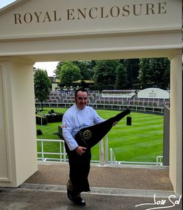 Royal Enclouser in Ascot with our Exclusive Jamón